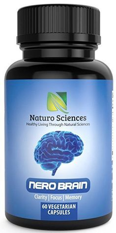 Brain Health Memory Support Focus Clarity 60 Capsules Dietary Supplement New  #Unbranded