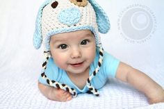 Adorable Little Puppy HatYou Pick the by UniqueKidz on Etsy