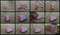 Quilling flower tutorial by Pritesh
