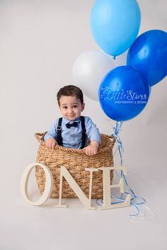 A one year old baby for a kids photoshoot. First Birthday Party Themes, Boy First Birthday, Birthday Photos, Star Photography, Conceptual Photography, Children Photography, 1 Year Baby, One Year Old Baby, Qatar Doha
