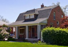 Houses with Gambrel Roofs