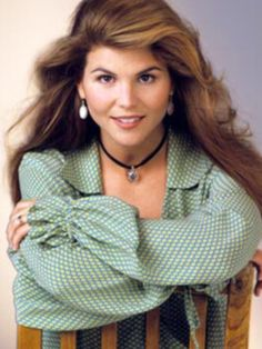Lori Loughlin as Aunt Becky from Full House