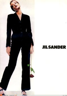 Tatjana Patitz by Nick Knight, Jil Sander Spring 1992