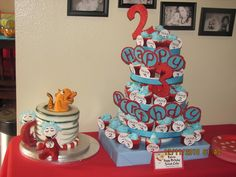 """Photo 1 of 19: Dr. Seuss  / Birthday """"Seussville Party Extravaganza"""""""