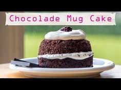 Chocolade Mug Cake, koolhydraatarm - YouTube