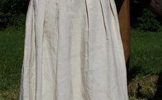 Ľanová sukňa Slavena image 2