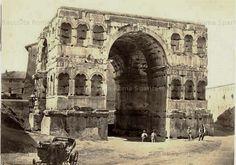Foto storiche di Roma - Arco di Giano Anno: 1865