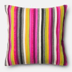 Alexander Home Felted Applique Down Feather or Polyester Filled 18-inch Throw Pillow or Pillow Cover
