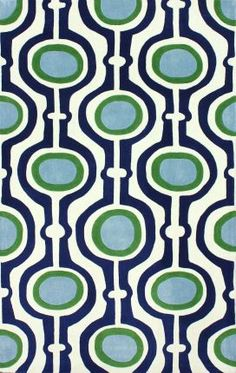 """Collection: Keno Brand: Rugs USA Material: 100% Polyester Weave: Hand Tufted Available in the following sizes: 5' x 8' and 7' 6"""" x 9' 6"""" http://www.rugsusa.com/rugsusa/rugs/rugs-usa-pearle/blue/200ACR161A-P.html"""