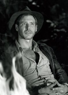Harrison as Indy