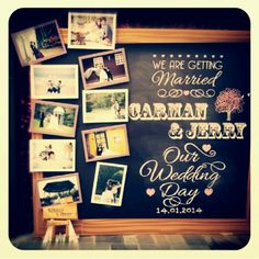 Willkommensgremium Source by wapigbeautiful Crazy Wedding, Our Wedding Day, Wedding Table, Diy Wedding, Wedding Ideas, Wedding Images, Wedding Cards, Welcome Chalkboard, Wedding Welcome Board