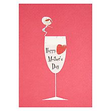 Buy Wine Glass Happy Mother's Day Card Online at johnlewis.com