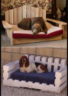 Outdoor bed for Lila