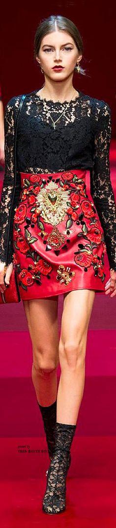 Dolce & Gabbana Spring Summer 2015- ♔LadyLuxury♔