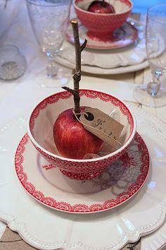 sweet table setting
