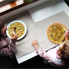 Na Cadeira da Papa: Farinha-de-pau de Peixe [desde os 8 meses] | Fish Cassava Flour Porridge