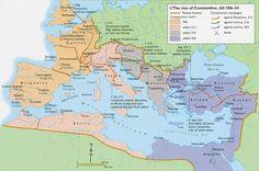 40 mapas que te explican el Imperio Romano