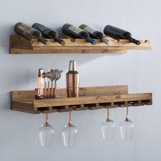 Wine Bottle Rack, Wood Wine Racks, Bottle Wall, Wine Rack Wall, Wine Glass Holder, Wine Rack Shelf, Diy Wine Racks, Unique Wine Racks, Bottle Bottle
