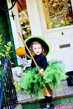 Neon Green Witch Costume