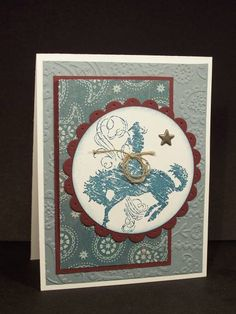 Rodeo Throwdown by debhorst - Cards and Paper Crafts at Splitcoaststampers