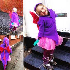 Pige-drage-kostume. #kriskrea