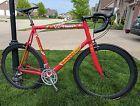 Cannondale CAAD 5 63cm ultegra/105 road bike. Carbon wheels. Team Saeco edition.