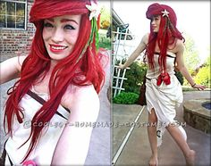 Ariel the Little Mermaid Cosplay Dress... This website is the Pinterest of costumes
