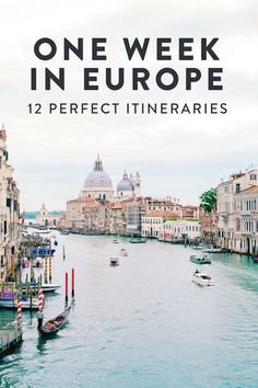 Are you planning a trip to Europe? Here are 12 amazing one week Europe itineraries. See the best of Europe, including London, Paris, Venice, Positano (Amalfi Coast) and more! europe destinations 24 Perfect One Week Europe Itinerary Options Backpacking Europe, Europe Travel Guide, Trip To Europe, Europe Budget, Europe Packing, Trip Around Europe, Summer Europe, Europe Europe, Travelling Europe