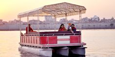 If you are looking for #pontoon #boats in #India? We provide all type of fully #aluminum pontoon boats with all luxurious amenities like sofa, music system etc.