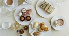 Chocolate afternoon tea at Harvey Nichols, Manchester