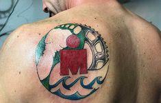 What better way to solidify your superhuman status than with some ink? Ironman Wisconsin, Ironman Arizona, Side Tattoos, Tatoos, Ironman Lake Placid, Ironman Triathlon Tattoo, World Tattoo, Coeur D'alene, Circle Of Life