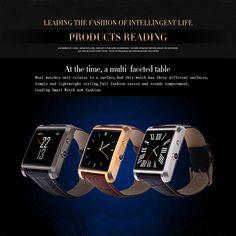 DM08 MT2505A-ARM7 1.54Inch TFT Dispaly Wrist Smartwatch