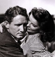 Hepburn with Spencer Tracy
