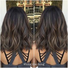 That Smokey Ash again. Perfect for Fall/Winter. #asian #asianhair #brunette