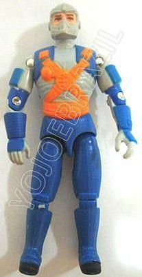 Descrição:  O Bólidus (Bólidus) foi lançado no Brasil em 1995 (Série 12) pela companhia de Brinquedos Estrela, a figura corresponde ao modelo straight arm (sem movimento nos cotovelos). Trata-se da versão nacional do Military Police [Law] fabricado em 1993 pela Hasbro pela série G.I. JOE.