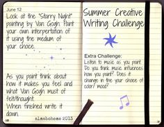 9 Best Creative Writing Challenge For Kids Images Writing