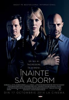 Before I go to sleep - Inainte sa adorm Best Movies To See, Great Movies, Colin Firth, Nicole Kidman, Movies Showing, Movies And Tv Shows, Cinema Times, Image Film, Before I Sleep