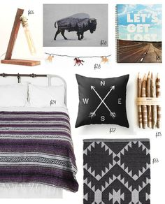   1. COLLEGE PREP   Decide on a theme/design concept for the room (or rather, half of the room, this is a dorm after all) --> Dorm Style: Rustic Chic