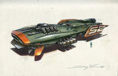 Space Race Ship 3, Dwayne Vance on ArtStation at https://www.artstation.com/artwork/AE8bq?utm_campaign=digest&utm_medium=email&utm_source=email_digest_mailer