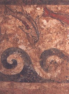 Etruscan tomb of the Infernal Quadriga, Sarteano, Italy
