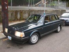 1987 Volvo 240 Dl 244 Sedan