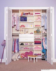 Closet para niñas