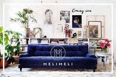 Cooming soon! Det är så kul att så många hör av sig om mina soffor, inom några veckor kommer min webshop @melimelihome.se öppna!