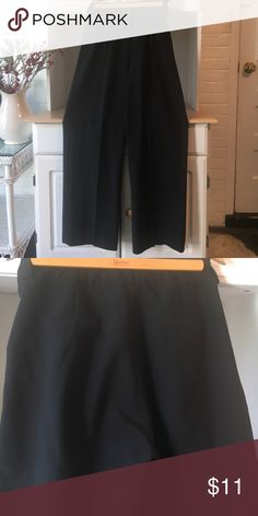 Women's black Kardashian pants/trousers. From the Kardashian collection, black pants for work or dress up – fit is nice! In great condition, only worn a few times! Kardashian Kollection Pants Trousers