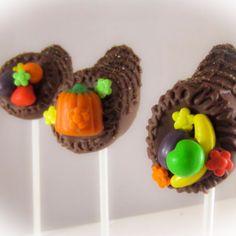 Cornucopia Cake Pops Thanksgiving Cake Pops, Fall Fest, Desserts, Fun, Ideas, Mid Autumn Festival, Tailgate Desserts, Deserts, Fall Festivals