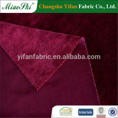 King Chairs Velvet Fabric Home Upholstery Fabric Shiny Velvet Polyester Fabric…