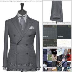Vitale Barberis Anzug (nach Ihren Wünschen gefertigt) alle Gr., 3 Farben, Wolle | eBay  zu finden in unserem eBay-Shop unter http://stores.ebay.de/jkkonfektion  In unserem Shop bieten wir Ihnen die größte Auswahl an Anzügen und Sakkos die Sie in Ebay finden werden. Sie haben die Möglichkeit den Stoff, den Schnitt, die Form, alle Ausstattungsdetails für Ihren Anzug oder Ihr Sakko selbst zu wählen. In jeder Größe! Ganz individuell - einfach einzigartig!