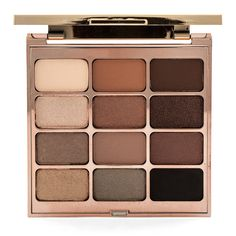Stila Eyes Are The Window Shadow Palette found on Polyvore featuring beauty products, makeup, eye makeup, eyeshadow, beauty, stila, stila eyeshadow, palette eyeshadow and stila eye shadow