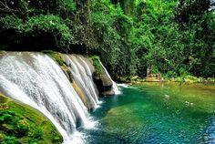 Reach Falls - Swimming holes -Portland Parish, Jamaica