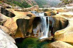 Cañón del Xallas, Ézaro (Carnota - Dumbría, GALICIA)  vía rutasgalicia.blogspot.com